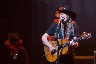 AUSTIN, TX - DECEMBER 31:  Singer-songwriter Willie Nelson performs in concert at ACL Live on December 31, 2015 in Austin, Texas.  (Photo by Rick Kern/WireImage)